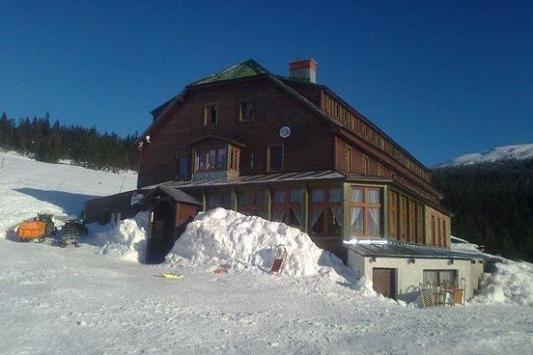 Ubytování Špindlerův Mlýn - Chata nad Špindlerovým Mlýnem - pohled zvenku